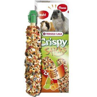 Versele-Laga ขนมแท่งรสผลไม้ กระต่าย กระรอก แก๊สบี้ แฮมสเตอร์ ชินชิล่า เฟอร์เร็ท Stick Fruit Rabbit Chipmunk Cavia Cavy Guinea Pig Hamster Chinchilla Ferret Snack 110 g.