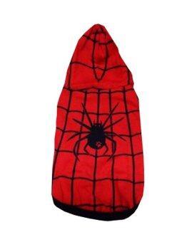 Dogacat เสื้อสุนัข เสื้อหมา เสื้อแมว เสื้อยืดลาย spider - สีแดง