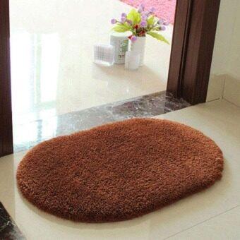 ป้องกันการลื่นนุ่มดูดซับน้ำพื้นน้ำพรมเสื่อประตูบ้านกาแฟ