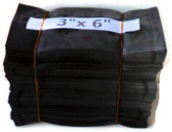 Papamami Nursery Bags For Plants ถุงเพาะชำ ถุงเพาะกล้า ถุงเพาะเมล็ด ขนาด 3x6 นิ้ว 1 กิโลกรัม