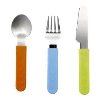 IKEA สมัสก้า ชุดช้อนส้อมมีด สำหรับเด็ก (3 ชิ้น)