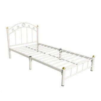 ISO เตียงเหล็ก ขนาด 3.5ฟุต ขา2นิ้ว รุ่น STAR