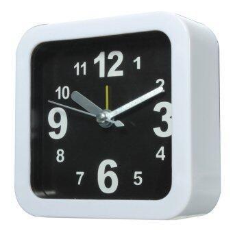 ขาวตกใจส่งเสียงมินิท่องเที่ยวนาฬิกาควอทซ์เตียงสำหรับบ้านสำนักงานห้องนอนโต๊ะทำงาน