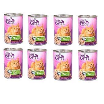 Cattycat อาหารเปียก แมว ปลาทูน่าในเยลลี่ 400g ( 12 units )