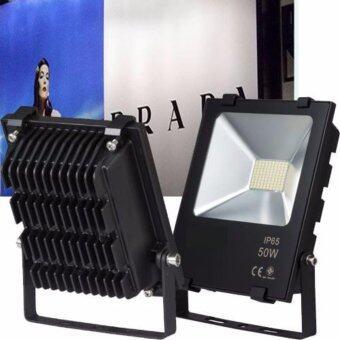 Light Farm สปอร์ตไลท์ แอลอีดี LED Spot Light LED แสงขาว ขนาด 50W ไม่ร้อน แพ็ค 1 ชุด