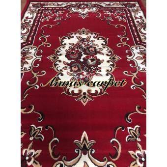 ANNAS - Classic style rugs AY028PP 210x 310 cm สีแดง