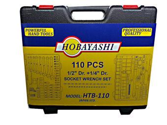 Hobayashi เครื่องมือช่าง ชุดประแจบล็อก HTB-110 (image 1)