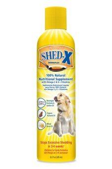 Shed-X ผลิตภัณฑ์อาหารเสริมบำรุงขนสำหรับสุนัข 245 ml.
