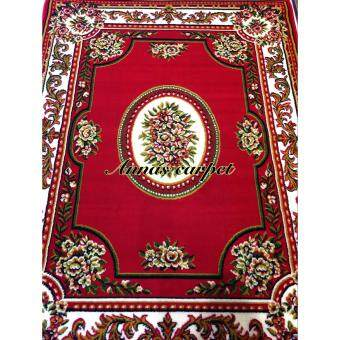 ANNAS - Classic style rugs AY019-PP 160 x 210 cm สีแดงสด