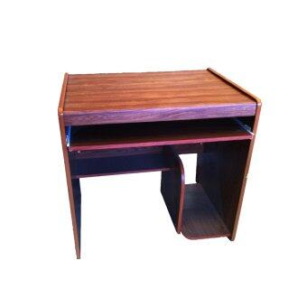TGCF โต๊ะคอม 081 Top PVC - สีสัก