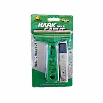 Hark Caput มีดขูดทำความสะอาดกระจก + ใบมีด 10 ใบ