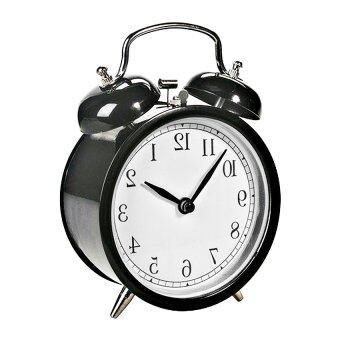 Startup นาฬิกาปลุก นาฬิกาตั้งโต๊ะ รุ่น WK-7701-2 ( สีดำ )