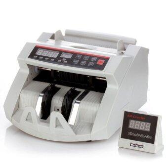 iBettalet เครื่องนับธนบัตร Bill Counter จอใหญ่ พร้อมเช็คธนบัตรจริงปลอม - White