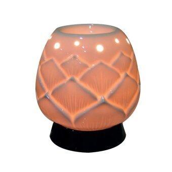 Aroma Space โคมไฟอโรม่า Porcelain Aroma Lamp (Lotus)