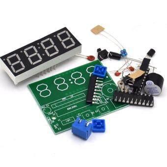ชุดคิท นาฬิกาดิจิตอล C51 4 Bits Electronic Clock Electronic Production Suite DIY Kits