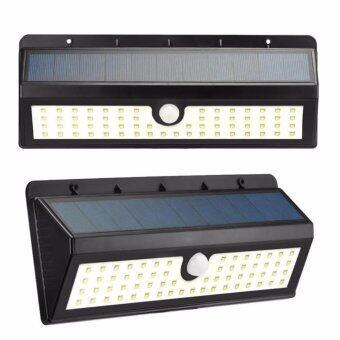 โคมไฟถนน ไฟรั้วพลังงานแสงอาทิตย์ 8 วัตต์ 62 หลอด (Sensor)