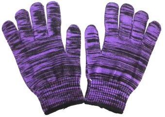 S-SHIR ถุงมือไมโครเทค - สีม่วง (12 คู่)