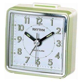 Rhythm นาฬิกาปลุก รุ่น CRE210NR05 - Pearl Green