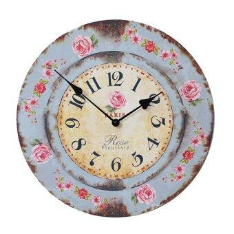 Kristra Home&Decoration นาฬิกาแขวนผนัง แนววินเทจ รุ่น T60515