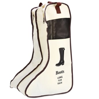 Harga MuHui Portable Thigh Boots Storage Bag Dust-proof Shoes Pouch UGG Storing Cover - intl