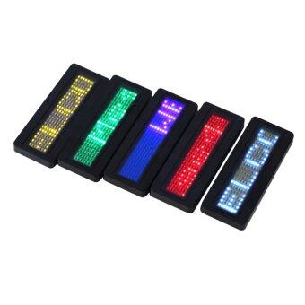 Harga YKS LED Programmable Scrolling Name Message Badge Tag Digital Display English