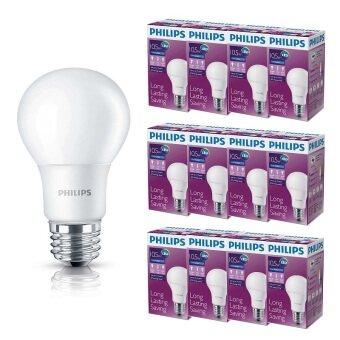 Philips หลอด LED BULB 10.5 วัตต์ ขั้ว E27 - แสงเดย์ไลท์ (12 ดวง)