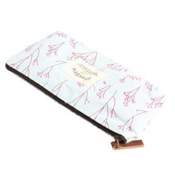 ปากกาดินสอลายดอกไม้สไตล์ชนบทกระเป๋าผ้าของขวัญกระเป๋าของขวัญหลากหลายสีเติม