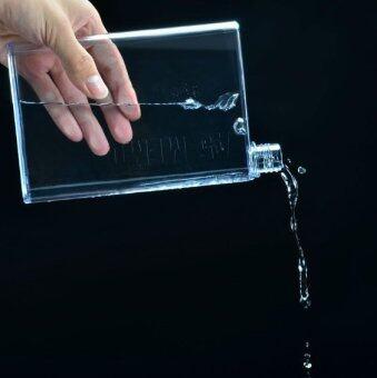 ขวดน้ำขนาดพกพา A5 สีใส 420 ml.
