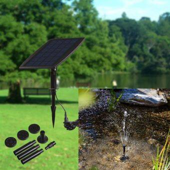 ปั้้มน้ำ+แผงโซล่าสำหรับรดน้ำต้นไม้สวน 1 ชุด
