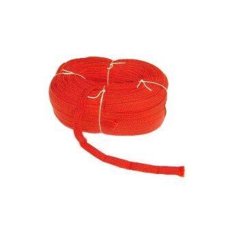 papamami เชือกผ้าถักแบน PP Rope กว้าง 19มม. - สีแดง (ยาว 10 เมตร)