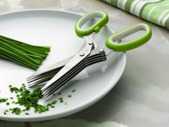 MWCกรรไกรตัดซอยผัก5ใบมีด