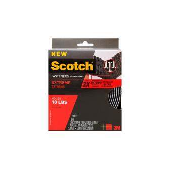 Scotch® RF6761 เทปหนามเตย dual lock ชนิดม้วน 1นิ้วx10ฟุต แรงยึดติดสูง สีดำ RF6761 SCOTCH EXTREME FASTENERS BLACK 1 IN X 10 FT