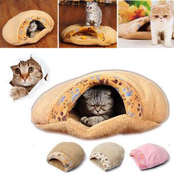 Audew สุนัขแมวสัตว์เลี้ยงถุงนอนถุงนอนอุ่นอิงแอบถ้ำบ้าน Igloo กระเป๋าเสื่อ S ขนาด - intl