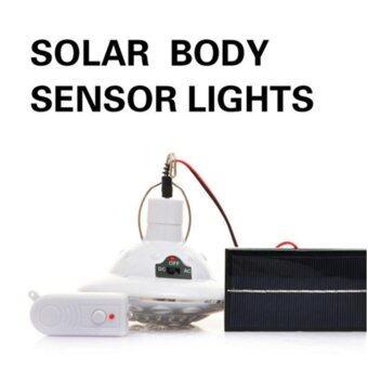 โคมไฟโซล่าเซลล์ ผนัง 22 LED พลังเเสงอาทิตย์ (เปิดปิดเอง)