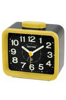 Rhythm Japan Table Clocks นาฬิกาปลุก รุ่น CRA637WR33 - Yellow