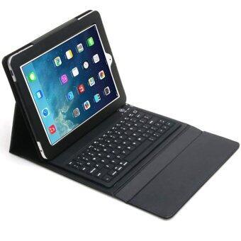 ข่าวแป้นพิมพ์ซิลิโคนบูธหนังบลูทูธสำหรับ iPad 2 3 4 (สีดำ)