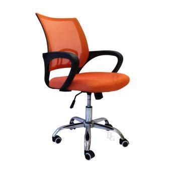 B&G โฮมออฟฟิศ เก้าอี้สำนักงาน เก้าอี้นั่งทำงาน (Orange) - รุ่น B