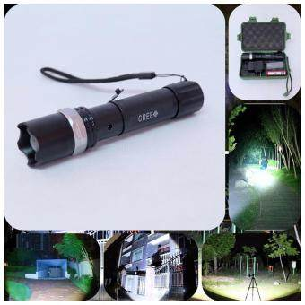 Hayashi - 2200Lm CREE XML T6 LED Zoomable Flashlight Torch 5 Modes ไฟฉาย แรงสูง ซูมได้