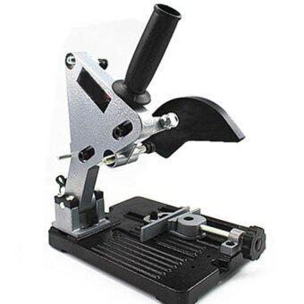 แท่นจับหินเจียร์ ที่ทำเครื่องเจียร์เป็นเครื่องตัด แท่นจับลูกหมูหินเจียร์รุ่นใหม่เหล็กหนา พร้อมมือจับยางและใบบังกันกระเด็น