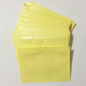 ซองใสหลังกาว พลาสติกสำหรับใส่การ์ดขนาด 6.3x8.8 cm. แพ็ค 100 ซอง