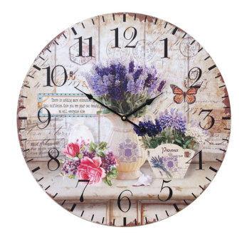 Kristra Home&Decoration 60CM. นาฬิกาแขวนผนัง แนววินเทจ รุ่น T70031