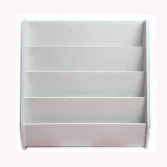 Imageขั้นวางหนังสือเด็ก รุ่นโดริโน่(สีขาว)