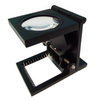 dubbletool แว่นขยาย 3 พับ 15 x - Black