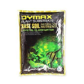 Dymax ดินปลูกพรรณไม้น้ำและรองพื้นสำหรับตู้ปลา เบส ซอย Base Soil ขนาด 3 ลิตร