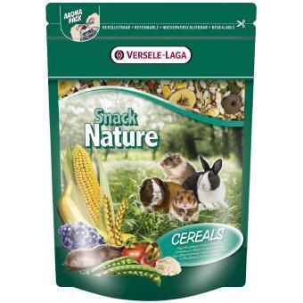 Versele-Laga ขนมเพิ่มโปรตีน กระต่าย กระรอก แก๊สบี้ แฮมสเตอร์ ชินชิล่า กระรอกบิน เฟอร์เร็ท หนู แฮมสเตอร์แคะ จิงโจ้บินSnack Nature - Cereals Rabbit Cuni Squirrel Chip Chipmunk Hamster Chinchilla Cavia Cavy Guinea Pig Ferret Mini Hamster Mouse Rat 500 g.