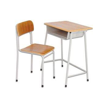 Asia โต๊ะนักเรียน+เก้าอี้ หน้าไม้ รุ่น R75