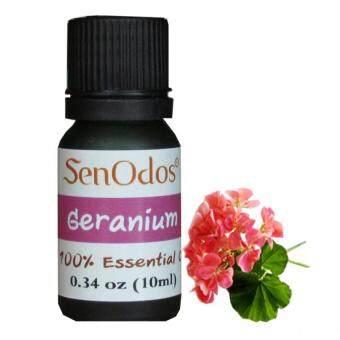 SenOdos น้ำมันหอมระเหยแท้ กลิ่นเจอเรเนี่ยม (10 ml) Geranium Pure Essential Oils