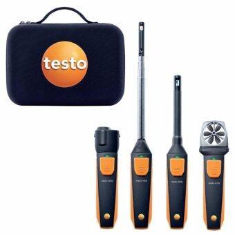 TESTO VAC Set ชุดหัววัดงานระบบระบายอากาศโดยใช้ร่วมกับ Smart phone หรือ tablet