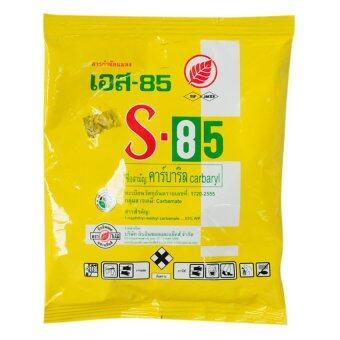 s-85 คาร์บาริล Insecticide for plant ยากำจัดแมลงศํตรูพืช หนอน ปลวก มด สำหรับต้นไม้ 100 กรัม (1ซอง)