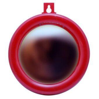 LEE TAI FU กระจกนูนขอบพลาสติกแดง